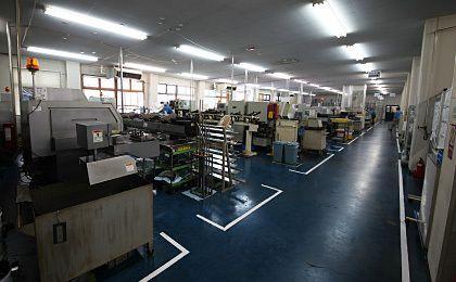 CNC自動旋盤ライン